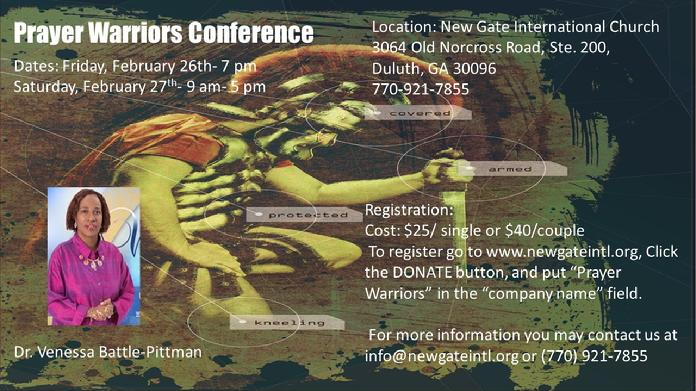 Prayer Warriors Conference